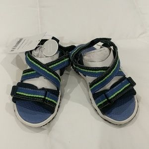 NWT Carter's Velcro Strap Sandals Toddler Sz 6